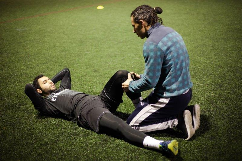 sports physiotherapy in London by physiotherapist Ange-Elie